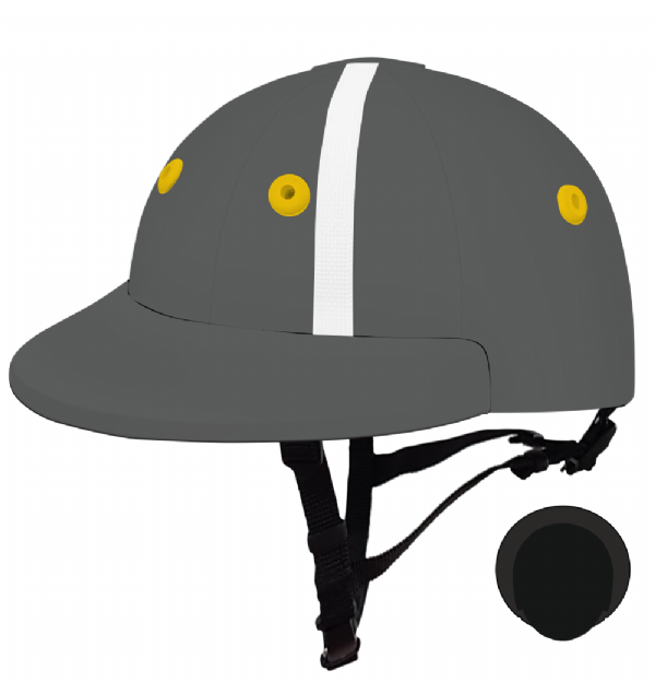 English Peak Style Helmet Polo. (x 1) (83343278-h9vt2nc9)